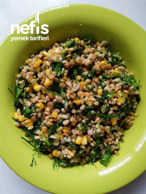 Diyet İri Bulgurlu Mercimek Salatası-9500972-170628