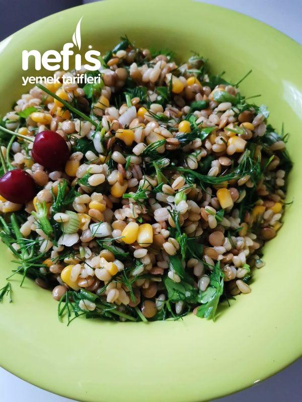 Diyet İri Bulgurlu Mercimek Salatası-9500972-170630