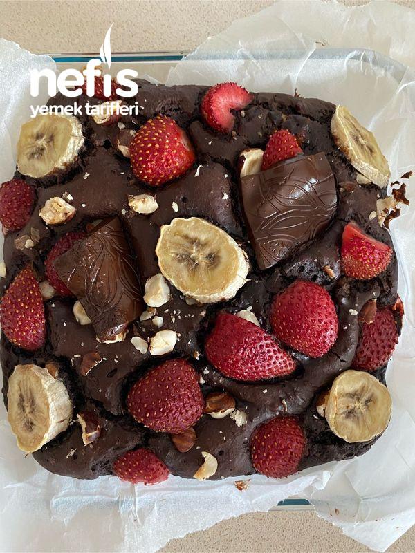 Fit Browni (Muzlu, Bitter Çikolatalı)-9498767-060646
