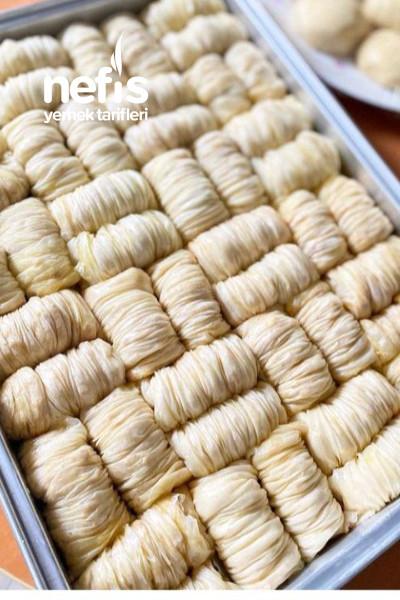 Pastanelere Rakip Sarı Burma (bu tarifimle herkes el açması tatlı yapabilecek.-9498454-160654