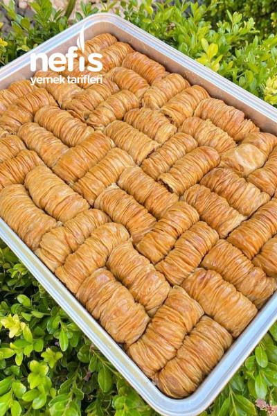 Pastanelere Rakip Sarı Burma (bu tarifimle herkes el açması tatlı yapabilecek.-9498454-160605