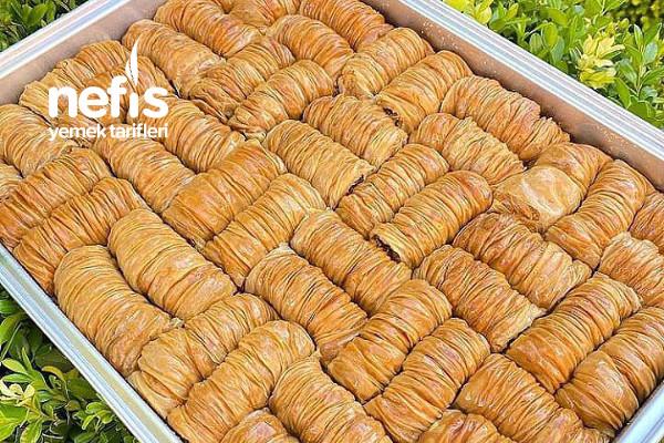 Pastanelere Rakip Sarı Burma (Bu Tarifimle Herkes El Açması Tatlı Yapabilecek)