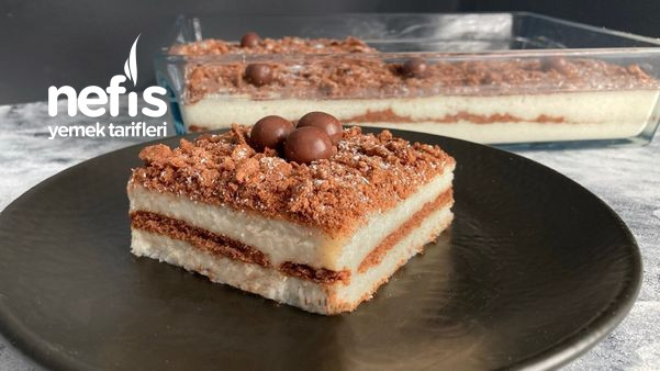 10 Dakikada, Sütlü İrmik Tatlısı (Videolu)-9503417-140637