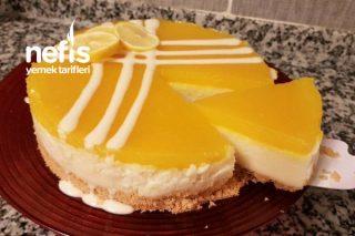 Cheesecake Görünümlü Harika Bir Tatlı (Videolu) Tarifi