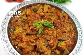 Etli Patlıcan Yemeği (Kızartmadan) Tarifi