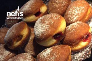 Kolay Ve Enfes Berliner (Alman Çöreği) Tarifi