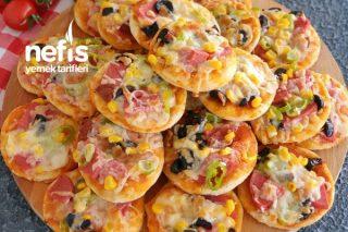Lokmalık Mini Pizza Tarifi