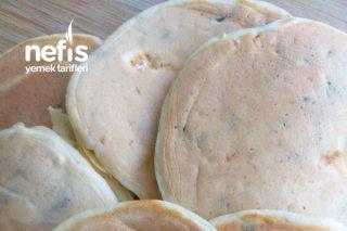 Peynirli Tuzlu Pankek Tarifi