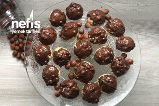 Fındıklı Çikolatalı Kıyır Kıyır Enfes Kurabiye Tarifi