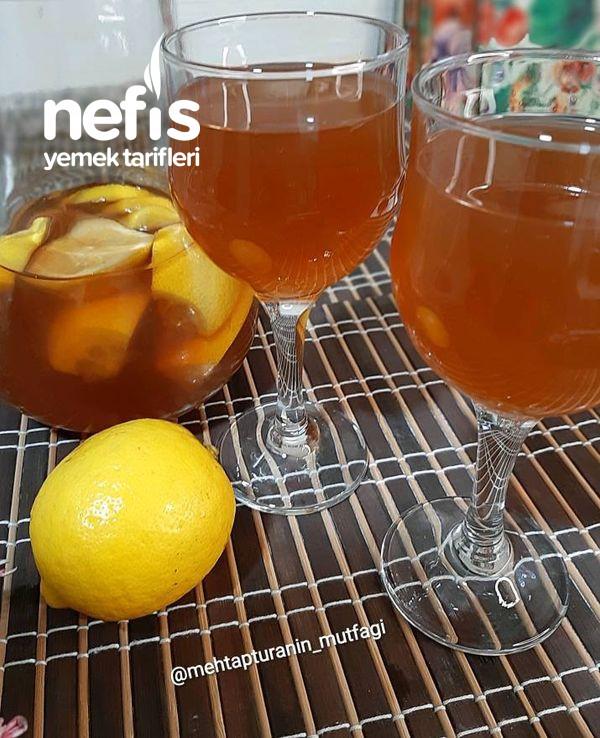 Limonlu Soğuk Çay İce Tea-9505418-090616