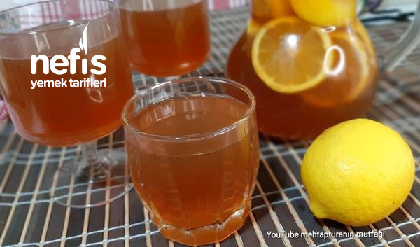 Limonlu Soğuk Çay İce Tea-9505418-090604