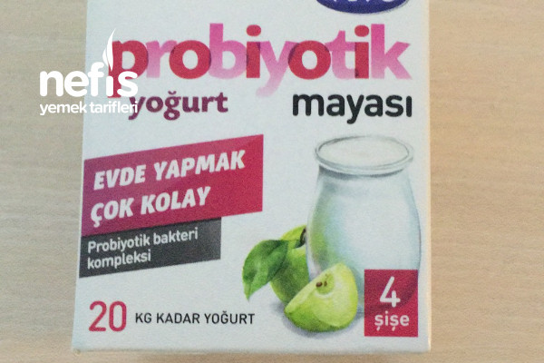 Probiyotik Yoğurt Mayası İle Yoğurt Yapımı-9504642-050610