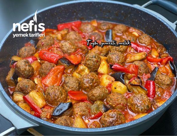 Efsane Lezzet, Tencerede Köfteli Sebze Yemeği-9506759-070619