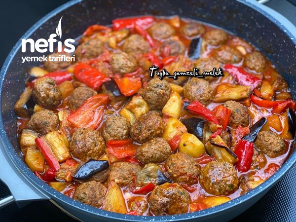 Efsane Lezzet, Tencerede Köfteli Sebze Yemeği-9506759-070615