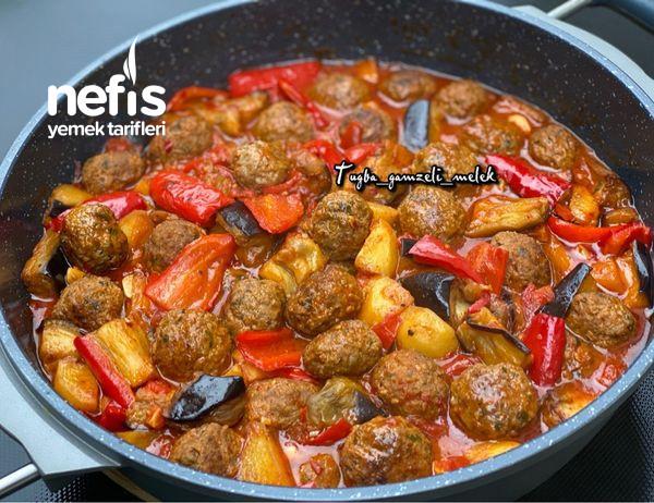 Efsane Lezzet, Tencerede Köfteli Sebze Yemeği-9506759-070617