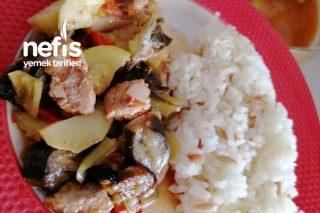 Fırında Sebzeli Sulu Yemek Tarifi