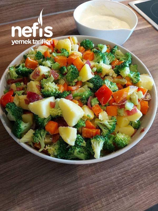 Nefis Soslu Sebze Salatası-9508756-150631