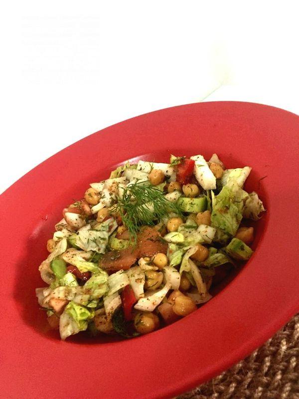 Nohut Salatası (Diyet)-9508802-160652