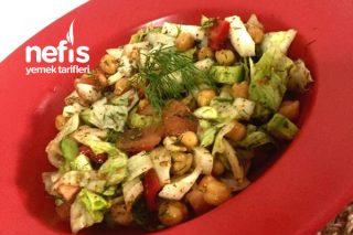 Nohut Salatası (Diyet) Tarifi