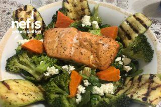 Bol Sebzeli Balıklı Salata Tarifi
