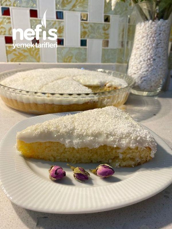 Hafif Tadıyla İpeksi Kremasıyla Harika Bir Pasta Gelin Pastası-9512248-160636