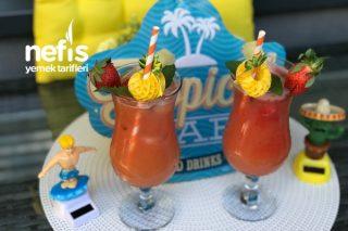 Virgin Sunrise Alkolsüz Cocktail (Videolu) Tarifi