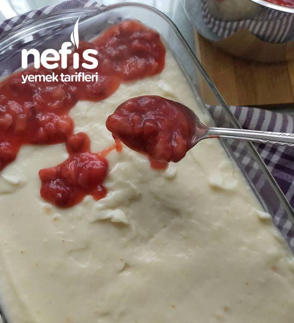 Çilekli Kolay Pasta-9514411-130646