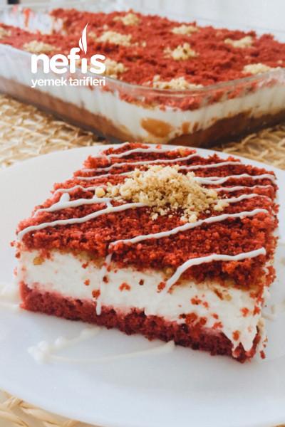 Kırmızı Kadife Pasta-9515486-210642