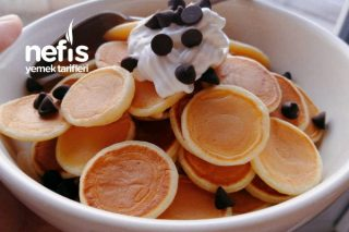 Mini Pankek Pancake Cereal Videolu Tarifi