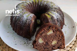 Yaş Pasta Lezzetinde Muzlu Çikolatalı Kek (Videolu) Tarifi