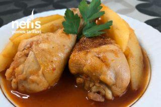 Bu Tarife Hayran Kalacaksınız Tavuklu Patates Yemeği (Videolu) Tarifi