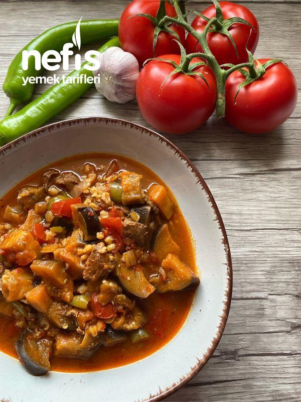 Bulgurlu Patlıcan Yemeği-9516428-100650