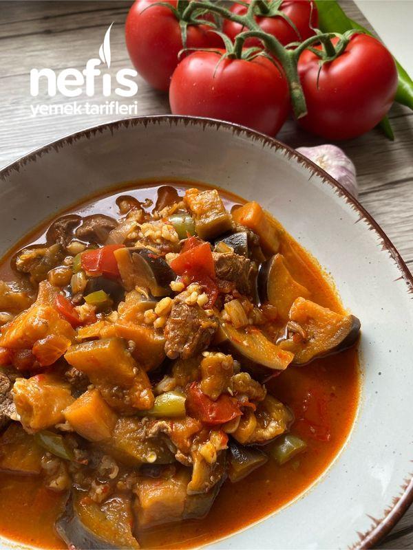 Bulgurlu Patlıcan Yemeği-9516428-100644