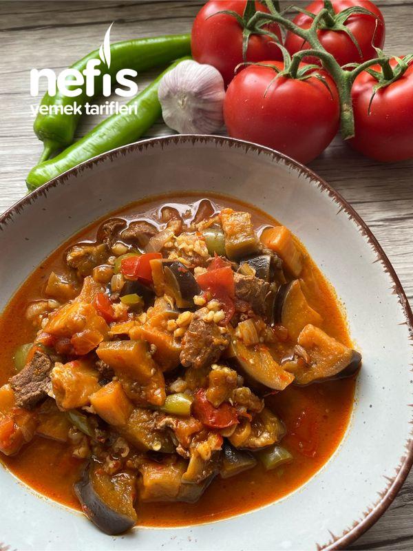 Bulgurlu Patlıcan Yemeği-9516428-100648
