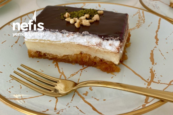 Çikolata Soslu Etimek Tatlısı (Videolu)