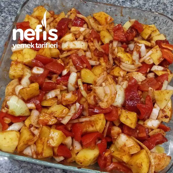 Fırında Tavuklu Patates-9517087-130633