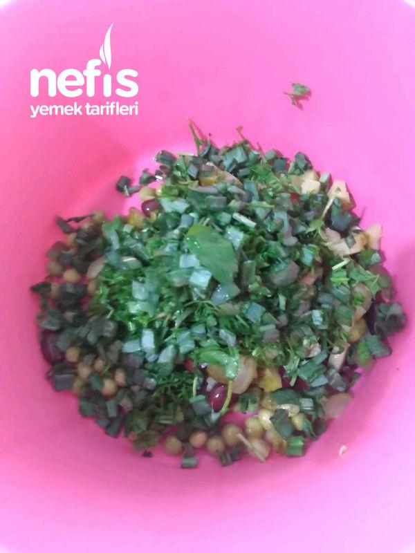 Mor Bulgur Salatası