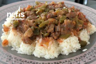 Pirinç Pilavı Eşliğinde Lokum Gibi Et Sote Tarifi