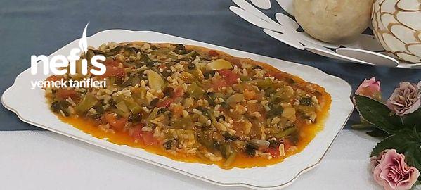 Pirinçli Semizotu Nefis Yaz Yemeği
