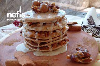 Tarçınlı Pankek Pasta Tarifi