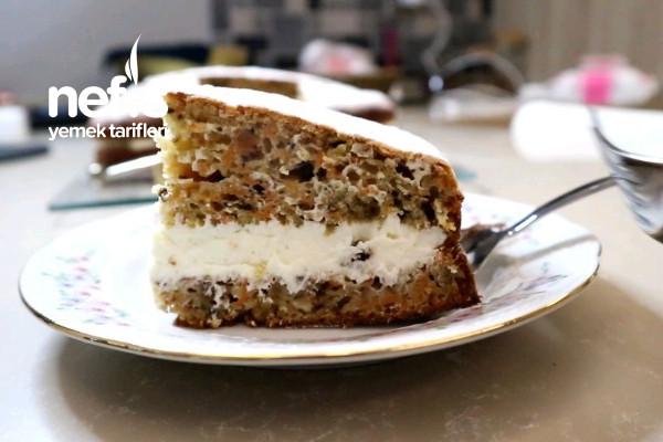Başka Yerde Tarifi Yok Enfes Kremalı Havuçlu Kek Tarifi (Videolu)