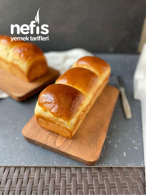 Yumuşacık Sütlü Japon Ekmeği