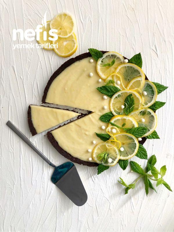 Beyaz Çikolatalı Limonlu Kolay Tart