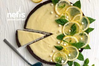 Beyaz Çikolatalı Limonlu Kolay Tart Tarifi
