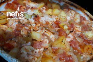 Fırında Tavuklu Sebze Kebabı Tarifi