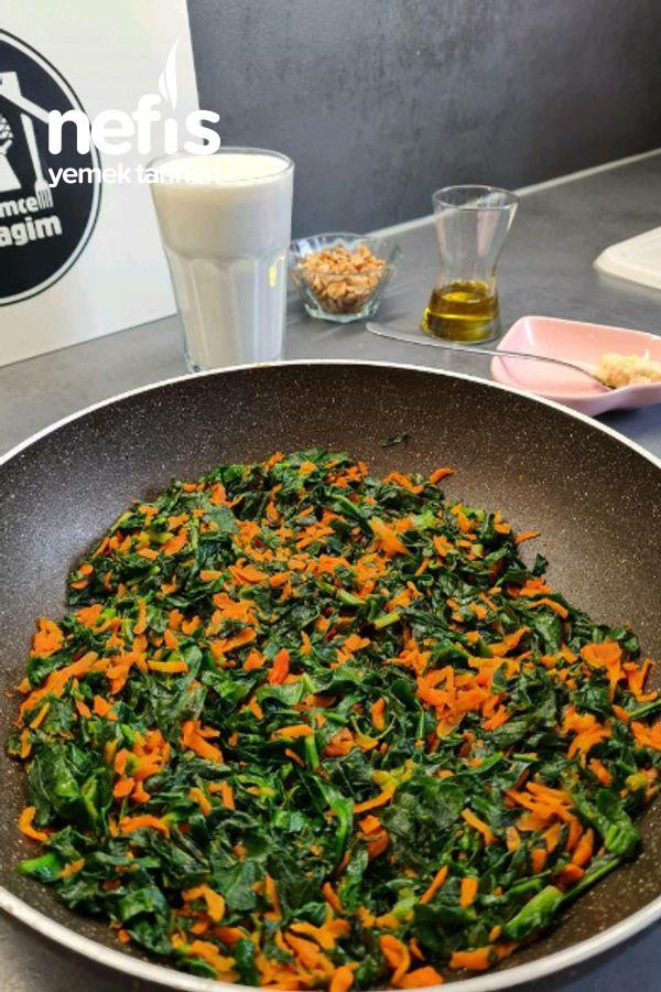 Ispanaklı Yoğurtlu Salata