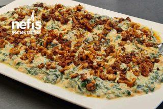 Ispanaklı Yoğurtlu Salata Tarifi