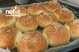 Tam Kıvamında Hamburger Ekmeği Tarifi