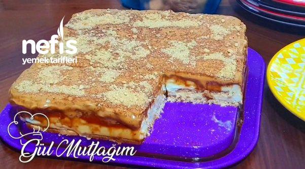 Dünyayı Kasıp Kavuran Dalgona Kahveli Pasta (Videolu)