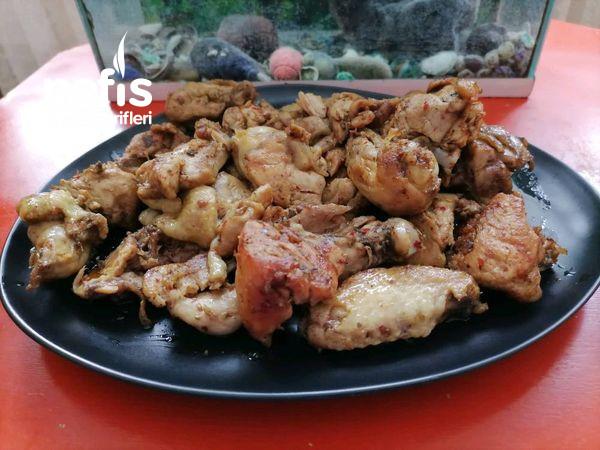 Muhteşem Lezzetiyle Tavada Soslu Tavuk Kızartması